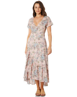 BLUSH FLORAL WOMENS CLOTHING O'NEILL DRESSES - 5321606BFL