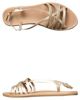 CHAMPAGNE WOMENS FOOTWEAR FREEWATERS FASHION SANDALS - WO043CHAMP
