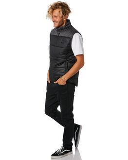 BLACK MENS CLOTHING RIP CURL JACKETS - CJKEK10090
