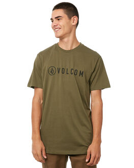 MILITARY MENS CLOTHING VOLCOM TEES - A35117G7MIL