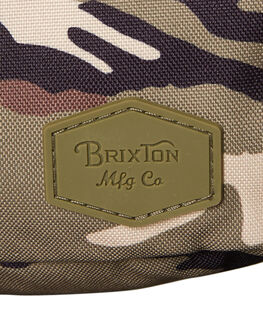 CAMO MENS ACCESSORIES BRIXTON BAGS + BACKPACKS - 05235CAMO