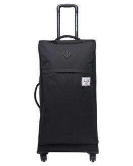 BLACK MENS ACCESSORIES HERSCHEL SUPPLY CO BAGS + BACKPACKS - 10654-00001-OSBLK
