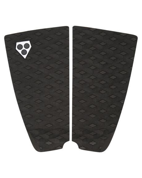BLACK BOARDSPORTS SURF GORILLA TAILPADS - 27608BLK
