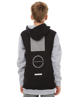 BLACK KIDS BOYS ST GOLIATH JUMPERS - 2491022BLK