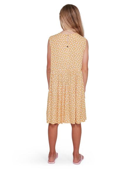 BRIGHT GOLD KIDS GIRLS BILLABONG DRESSES + PLAYSUITS - BB-5503462-BIG
