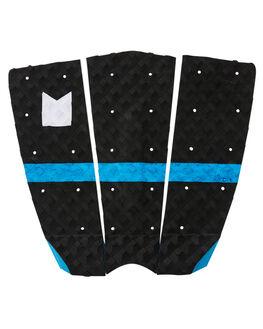 BLACK BLUE SWIRL BOARDSPORTS SURF MODOM TAILPADS - 2019TRT3BLBLBLKBL