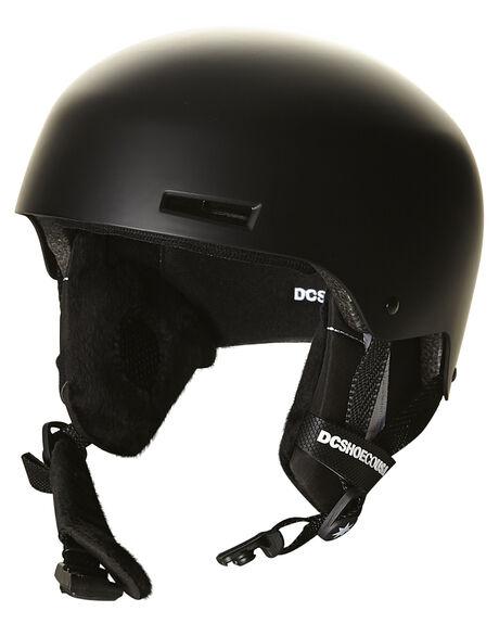 Dc Shoes Bomber Mens Snow Helmet - Black  b9447e400