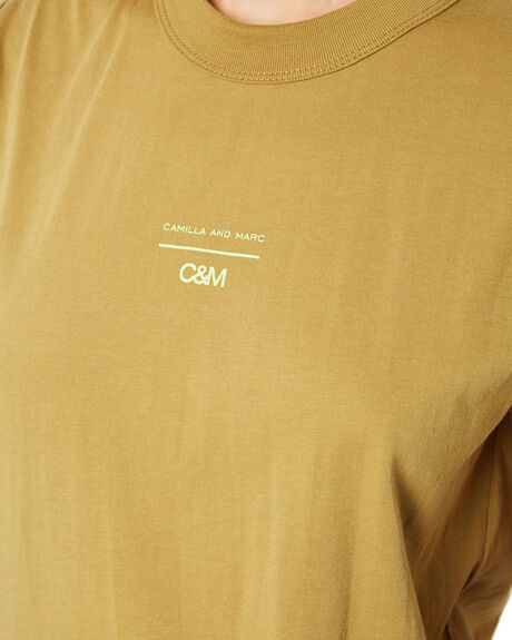 DARK PISTACHIO WOMENS CLOTHING C&M CAMILLA AND MARC SINGLETS - VCMT6992PIST