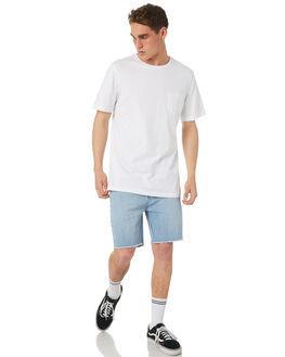 WHITE MENS CLOTHING RVCA TEES - R181066WHT