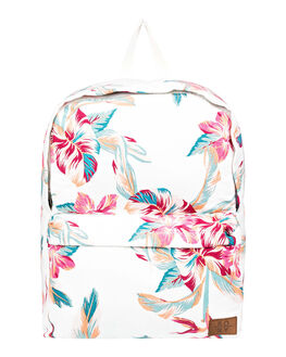 SNOW WHITE TROPIC WOMENS ACCESSORIES ROXY BAGS + BACKPACKS - ERJBP04057-WBK7