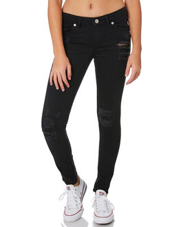 BLACK KIDS GIRLS LEVI'S PANTS - 37350-0168BLK