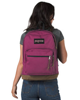 MAGENTA HAZE WOMENS ACCESSORIES JANSPORT BAGS + BACKPACKS - JSTYP7-JS5F9
