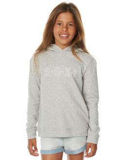 HERITAGE HEATHER KIDS GIRLS ROXY JUMPERS - ERGFT03213SGRH