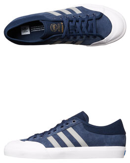 NAVY SOLID WOMENS FOOTWEAR ADIDAS ORIGINALS SNEAKERS - SSBY3983NVYW
