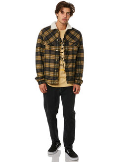 PLAID MENS CLOTHING RVCA JACKETS - R193436PLAID