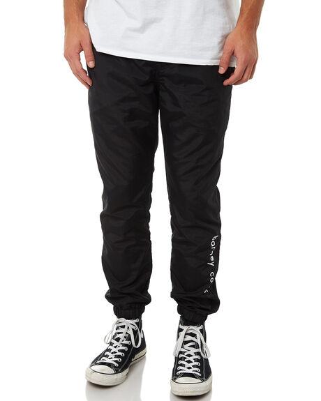 BLACK MENS CLOTHING BARNEY COOLS PANTS - 733-CR1BLK