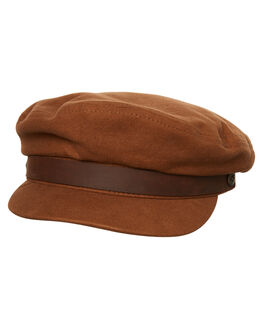 BROWN DARK BROWN MENS ACCESSORIES BRIXTON HEADWEAR - 00004BRDBR