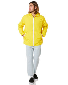 YELLOW MENS CLOTHING HUFFER JACKETS - MJA83S3901YLLW