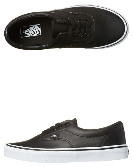 BLACK WHITE MENS FOOTWEAR VANS SNEAKERS - VN-A38FRNQRBLK