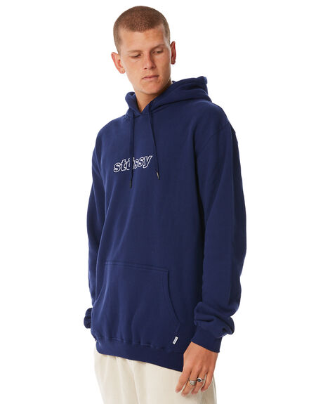 DARK NAVY MENS CLOTHING STUSSY JUMPERS - ST086203DNVY