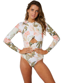 WHITE WOMENS SWIMWEAR RIP CURL ONE PIECES - GSIVQ31000