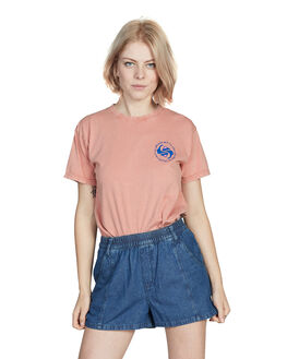 ROSE DAWN WOMENS CLOTHING QUIKSILVER TEES - EQWKT03017-MKB0