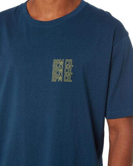 COBALT MENS CLOTHING RPM TEES - 20SM03A1CBL