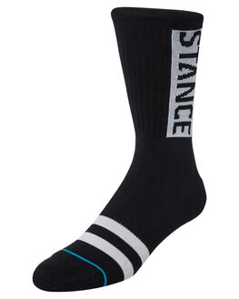 BLACK MENS CLOTHING STANCE SOCKS + UNDERWEAR - M556D17OGGBLK
