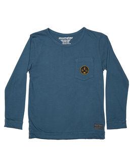 BLUE KIDS TODDLER BOYS MUNSTER KIDS TEES - MK162TL02BLU