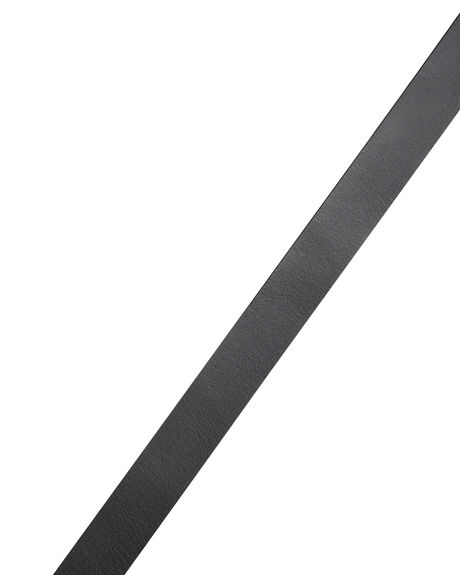 BLACK MENS ACCESSORIES RUSTY BELTS - BEM0495BLK