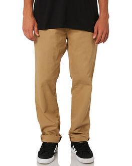LEATHER 2 MENS CLOTHING CARHARTT PANTS - I026021-8YLEA