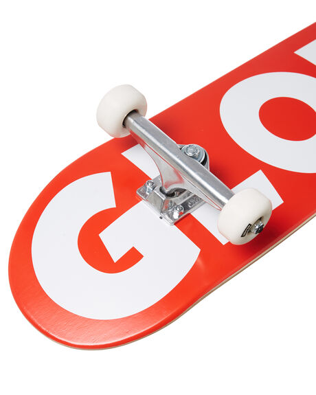 RED WHITE BOARDSPORTS SKATE GLOBE COMPLETES - 10525402RDWHT