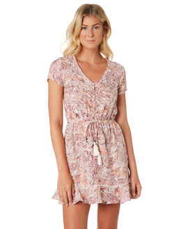 PEARL FLORAL WOMENS CLOTHING O'NEILL DRESSES - 4821610PRF