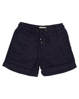 NAVY KIDS TODDLER BOYS ROOKIE BY THE ACADEMY BRAND SHORTS - R19S603NVY