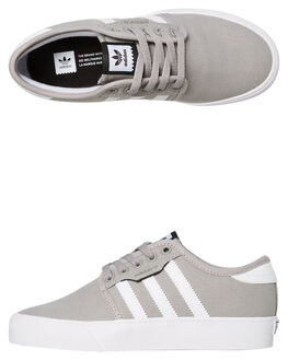 SOLID GREY KIDS BOYS ADIDAS SNEAKERS - BY3839SGRY