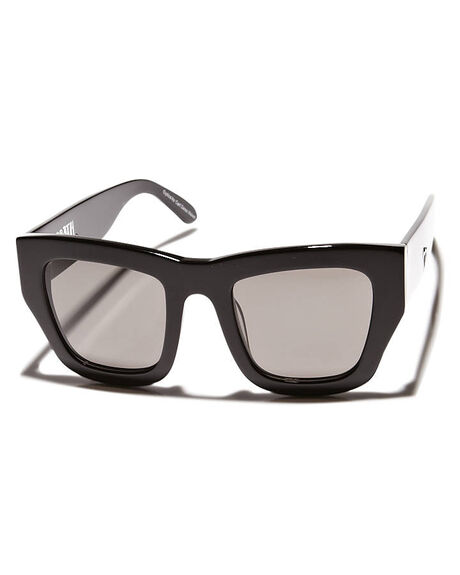GLOSS BLACK MENS ACCESSORIES VALLEY SUNGLASSES - S0059GBLK