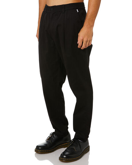 DIRTY BLACK MENS CLOTHING BANKS PANTS - PT0083DBL