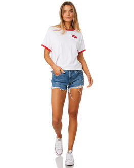 FESTIVAL TO GO WOMENS CLOTHING LEVI'S SHORTS - 32317-0104FTGO
