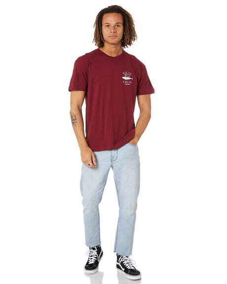 BURGANDY MENS CLOTHING SALTY CREW TEES - 20035336BURG
