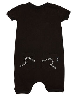 BLACK WASH KIDS BABY ROCK YOUR BABY CLOTHING - BBB181-VSBLKW