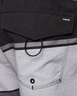 BLACK MENS CLOTHING HURLEY BOARDSHORTS - AMBSEJARV00A