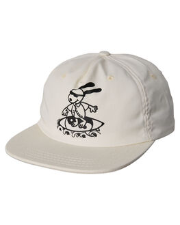 WHITE MENS ACCESSORIES OAKLAND SURF CLUB HEADWEAR - SP18-H2-WWHI
