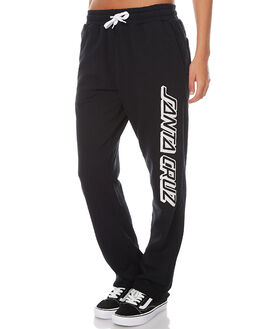 BLACK WOMENS CLOTHING SANTA CRUZ PANTS - SC-WPA7260BLK