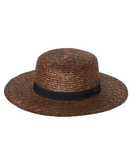 CHOCOLATE WOMENS ACCESSORIES RUSTY HEADWEAR - HHL0518CHO