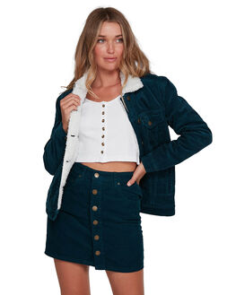 ORION BLUE WOMENS CLOTHING BILLABONG JACKETS - BB-6507903-ION