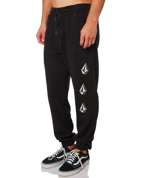 WASHED BLACK MENS CLOTHING VOLCOM PANTS - A1211900WSB
