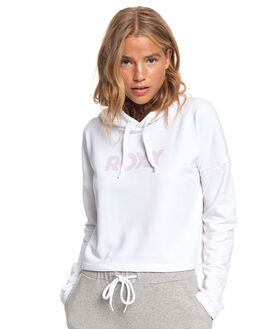 BRIGHT WHITE WOMENS CLOTHING ROXY JUMPERS - ERJFT04138-WBB0
