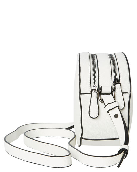 WHITE WOMENS ACCESSORIES THERAPY BAGS + BACKPACKS - SOLE-B0005WHT