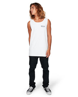 WHITE MENS CLOTHING BILLABONG SINGLETS - BB-9592502-WHT