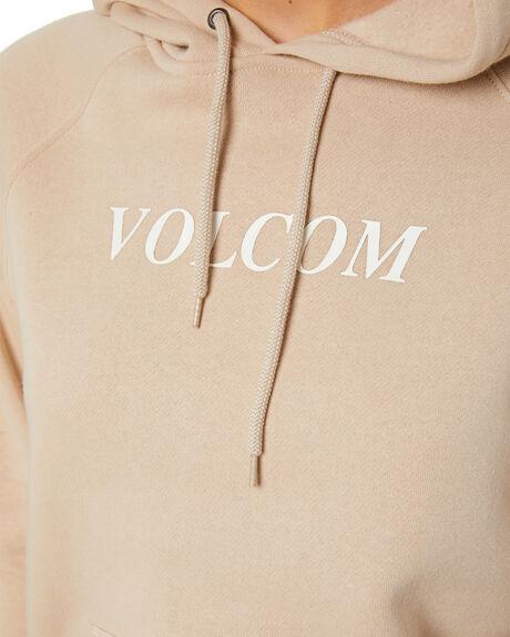 OXFORD TAN WOMENS CLOTHING VOLCOM JUMPERS - B3111886-OXTAN